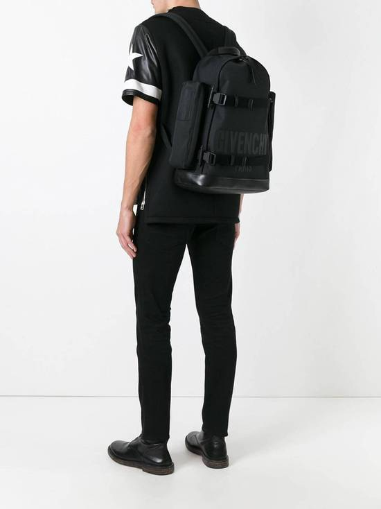 Givenchy Givenchy Logo Printed Backpack Size ONE SIZE