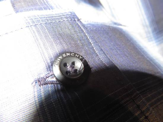 Givenchy Contrast check shirt Size US M / EU 48-50 / 2 - 6