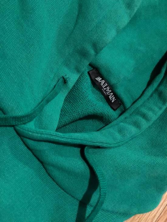 Balmain Balmain Sweatshirt Pullover Kelly Green Size US L / EU 52-54 / 3 - 5