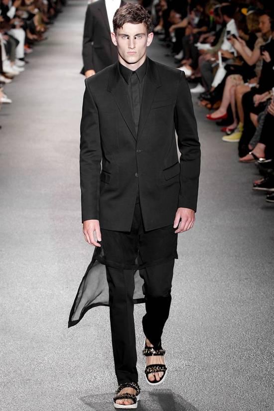 Givenchy SS13 OVERSIZED SILK LAYER SHIRT Size US XS / EU 42 / 0 - 1