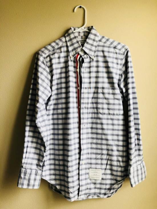 Thom Browne Checked Oxford Cloth Shirt Size US S / EU 44-46 / 1