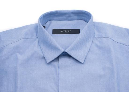 Givenchy Givenchy Mens Denim W/ Stripe Sleeve Button Down Size US XS / EU 42 / 0 - 1