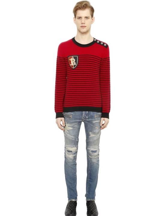 Balmain Striped merino wool Size US S / EU 44-46 / 1