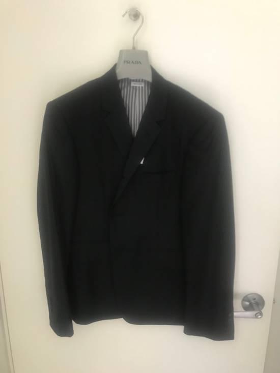 Thom Browne Black Blazer Jacket Size 38R