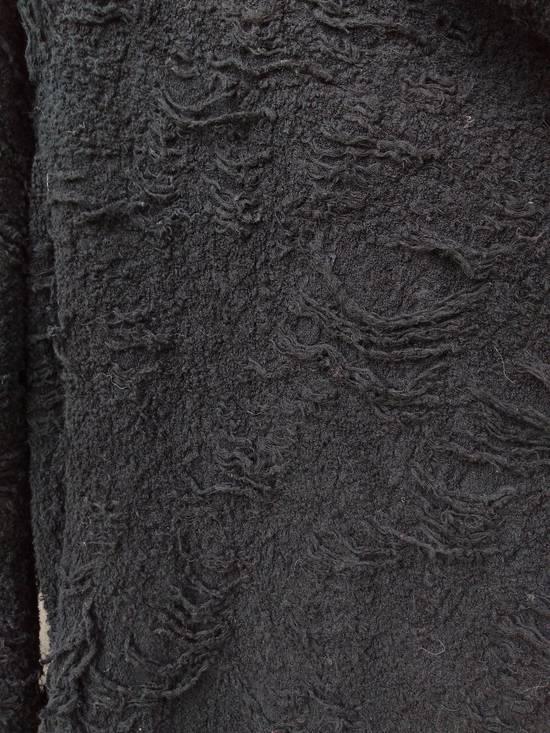 Julius Black Hooded Textured Cardigan Size US M / EU 48-50 / 2 - 2