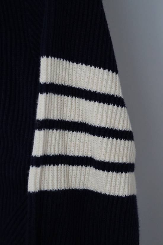 Thom Browne Blue 4-striped Knitted Sweater Size US M / EU 48-50 / 2 - 5