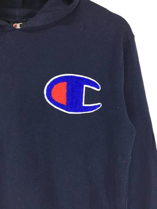 Vintage Champion big logo hoodies sweatshirt Size US XS / EU 42 / 0 - 2