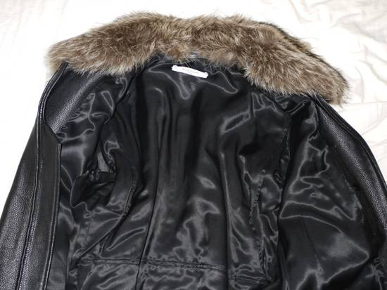 Givenchy Givenchy 15AW Raccoon Collar Calf Leather Jacket size 48 Size US M / EU 48-50 / 2 - 3