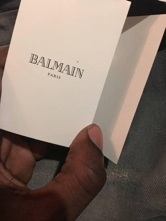 Balmain Balmain grey biker jeans Size US 34 / EU 50 - 12
