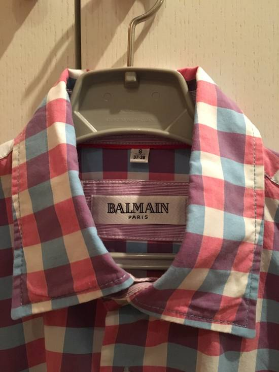 Balmain Checked shirt by Balmain Size US S / EU 44-46 / 1 - 1