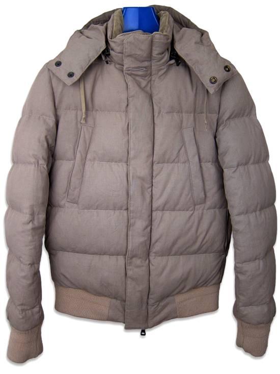 Balmain AW11 Khaki Military Down Jacket sz. 44 Size US XS / EU 42 / 0