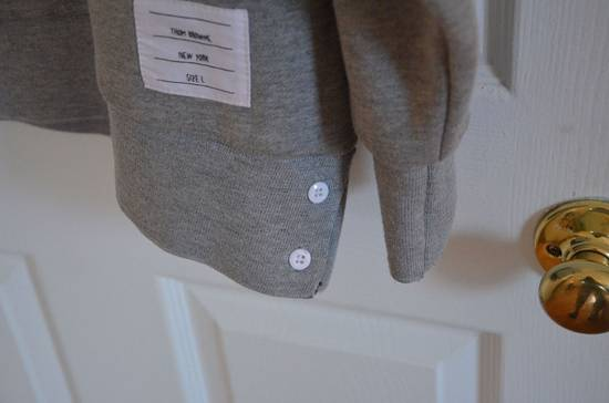 Thom Browne Grey Four Bar Sweater Size US S / EU 44-46 / 1 - 1