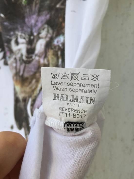 Balmain white wolf tee Size US S / EU 44-46 / 1 - 5