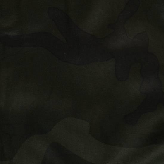 Balmain Men's Green Cotton Blend Camouflage Biker Pants Size L Size US 36 / EU 52 - 7