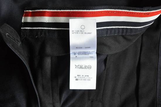 Thom Browne Navy Unstructured Chino Size US 31 - 5