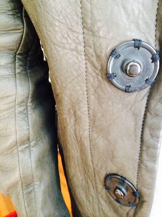 Julius Julius 7 Men Leather Jacket Size US M / EU 48-50 / 2 - 5
