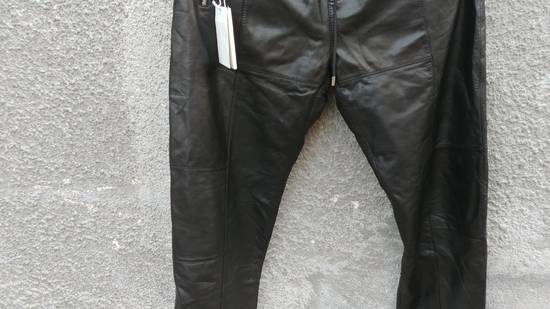 Givenchy $2475 Givenchy Lambskin Rottweiler Leather Trousers Trackpants size 50 (M / L) Size US 34 / EU 50 - 7