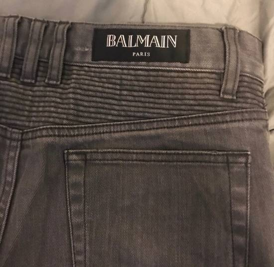 Balmain Grey Denim Jeans Size US 29 - 2