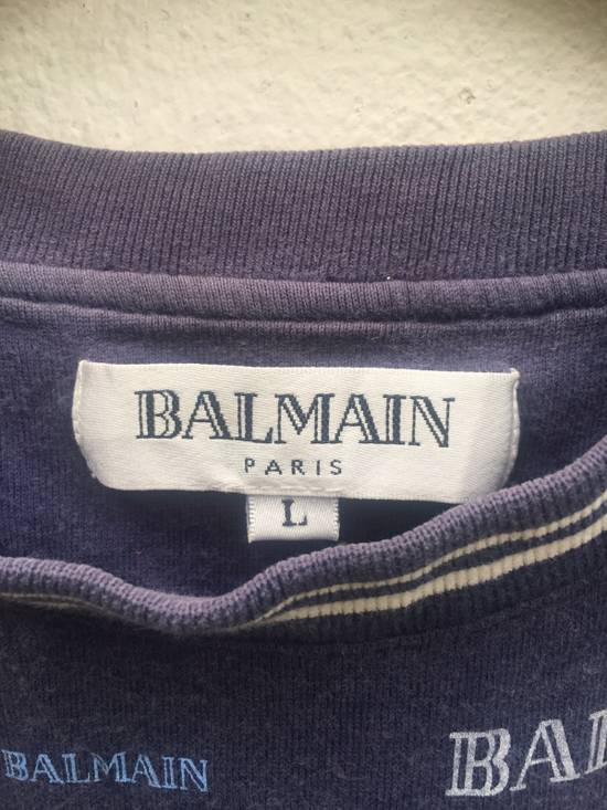 Balmain Balmain Short Sleeve T-shirt Full Print Size US L / EU 52-54 / 3 - 5