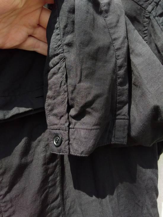 Julius Black Belted Asymmetric Shirt s/s13 Size US M / EU 48-50 / 2 - 5