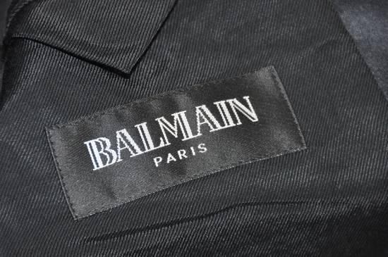 Balmain Balmain silk collar dinner blazer Size 48S - 5