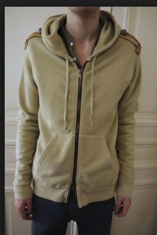 Balmain Balmain Beige Military Zipper Hoodie Size US M / EU 48-50 / 2 - 9