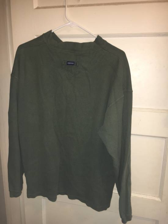 Givenchy Givenchy Army Green Quarter Button Up Long John Thermal Shirt Size US XL / EU 56 / 4 - 2