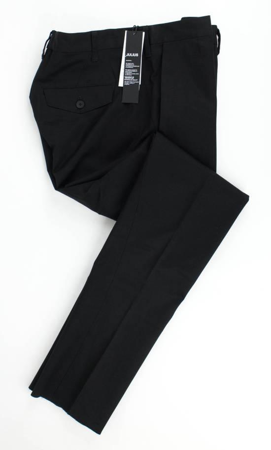 Julius 7 Black Skinny Woven Pants Size M Size US 34 / EU 50