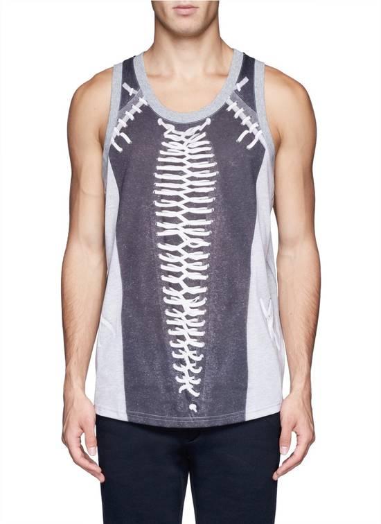 Givenchy Givenchy Baseball Stitch Print Men's Stars Rottweiler Shark Tank Top Vest size S Size US S / EU 44-46 / 1 - 1