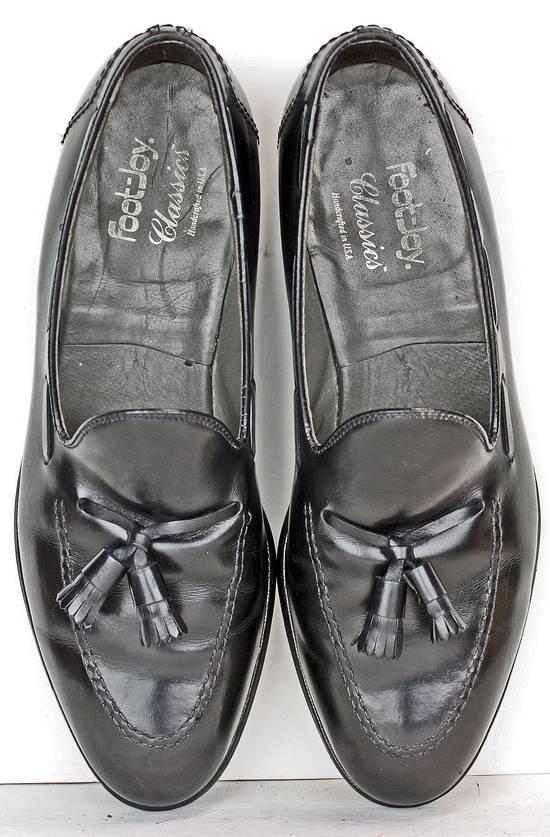ac71770f96a ... Footjoy Footjoy Classics Mens Loafers Size 11.5 C Black Leather Tassel  Dress Shoes Size US 11.5 ...
