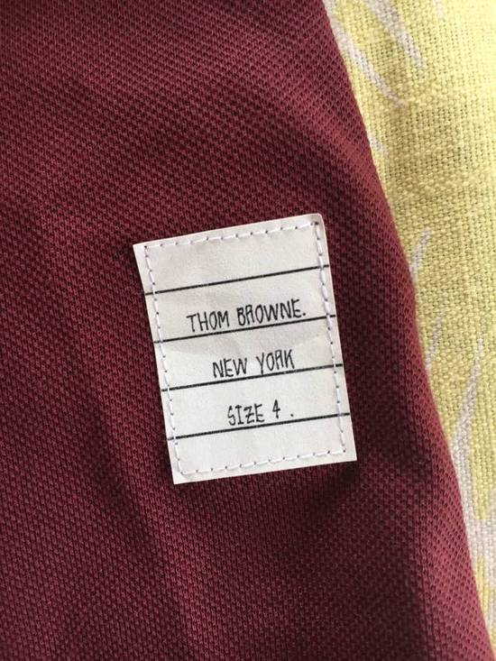 Thom Browne Red Polo worn once Size US M / EU 48-50 / 2 - 2