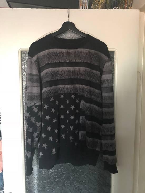 Givenchy Black/Grey american flag sweatshirt Size US M / EU 48-50 / 2 - 3