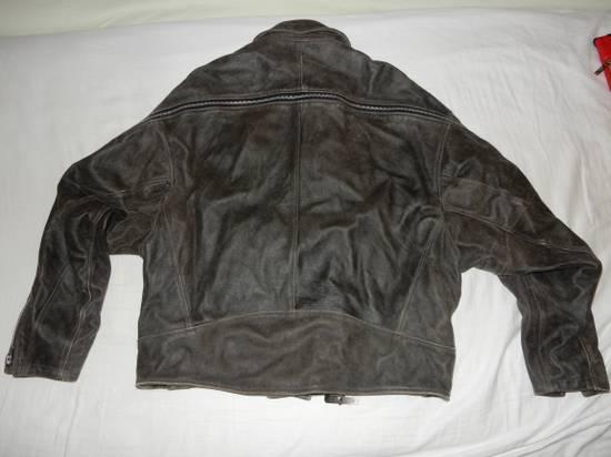 Julius Julius _ 7 oversized Biker Leather Jacket Size US L / EU 52-54 / 3 - 2