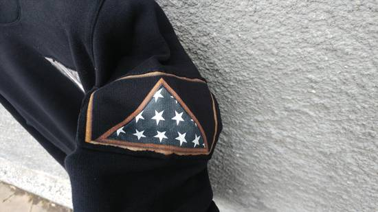 Givenchy $870 Givenchy America Flag Patch Rottweiler Shark Star Sweater size XS (relaxed fit) Size US XS / EU 42 / 0 - 5