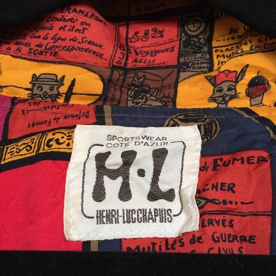 Vintage Vintage!! H-L HENRI LUC CHAPIUS Sportwear Cote D'Azur Designer Outdoor Windbreaker Full Print Pop Art Henri Luc Chapius Women Size Large Size US L / EU 52-54 / 3 - 9