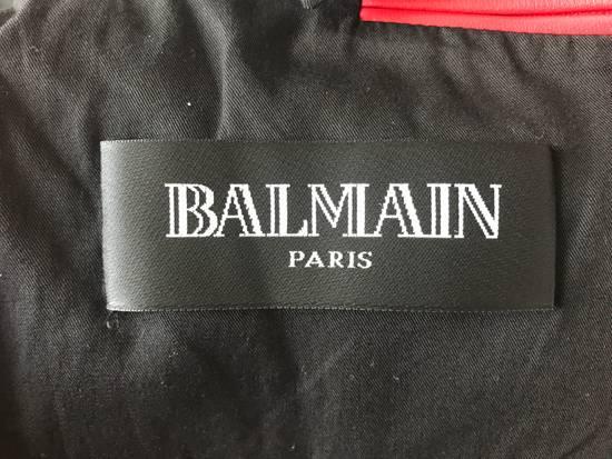 Balmain Nappa Leather Biker Jacket Size US M / EU 48-50 / 2 - 10