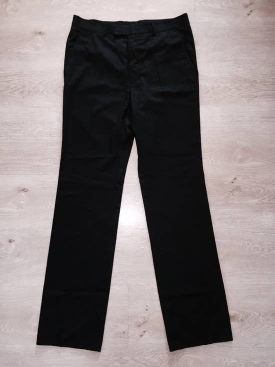 Vintage GIANNI VERSACE Couture pre 1993 Year Vintage Black Wool Pants 52 IT Rare Designer Luxury Made In Italy Casual trousers 1990's 2pac Notorious Russian Mafia Size US 36 / EU 52 - 3