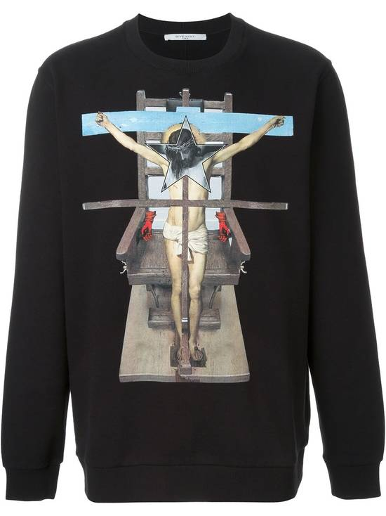 Givenchy Jesus Cross Sweater Size US XL / EU 56 / 4 - 1