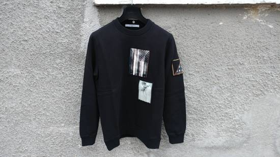 Givenchy $870 Givenchy America Flag Patch Rottweiler Shark Star Sweater size XS (relaxed fit) Size US XS / EU 42 / 0