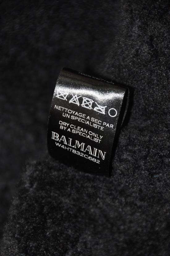 Balmain Balmain shearling leather biker jacket Size US L / EU 52-54 / 3 - 6