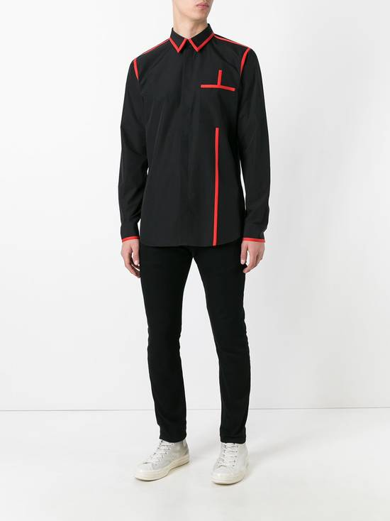Givenchy Contrast trim shirt Size US S / EU 44-46 / 1 - 4