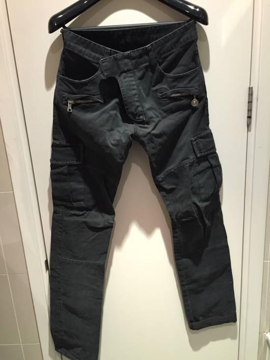 Balmain Military Biker Jeans Size US 30 / EU 46
