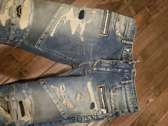 Balmain Distressed denim Size US 33 - 5