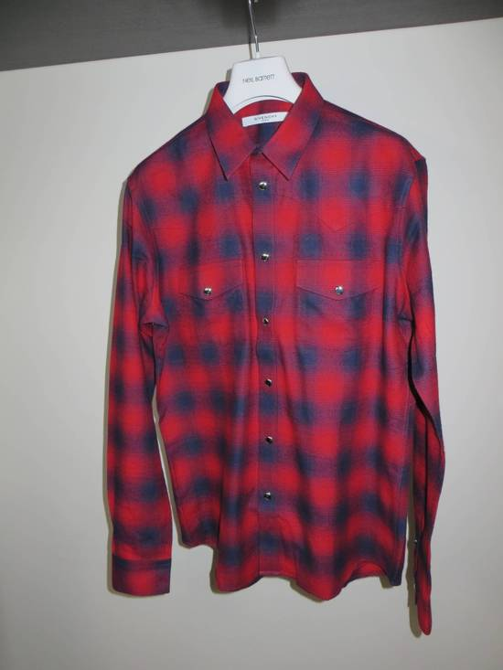 Givenchy Flannel check- shirt Size US L / EU 52-54 / 3 - 1
