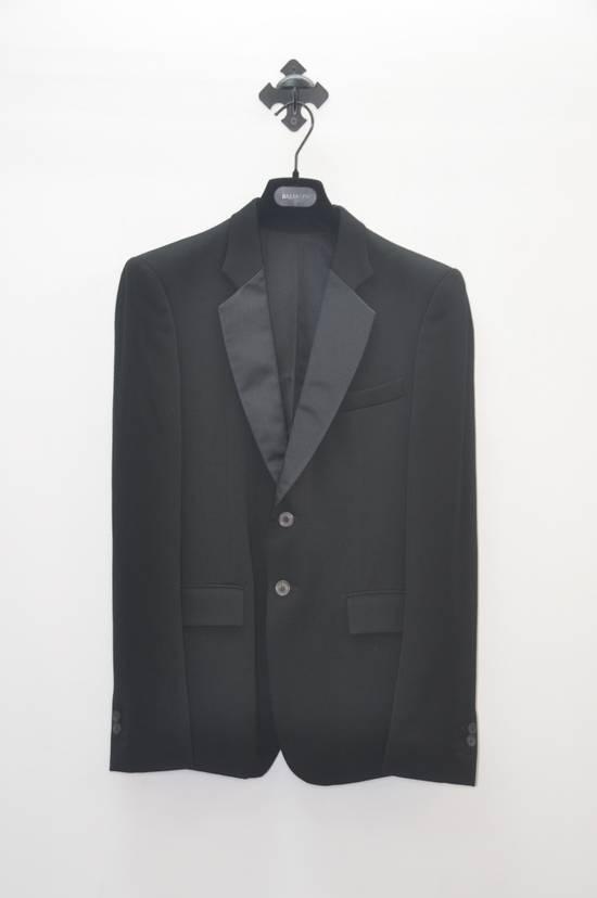 Balmain Balmain silk collar dinner blazer Size 48S