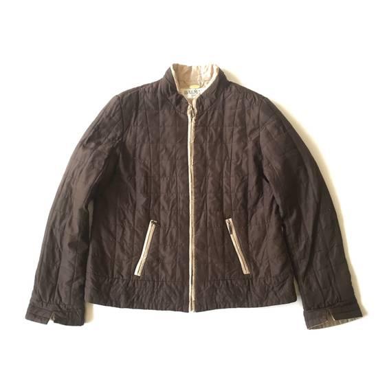 Balmain Final Drop! Balmain Quilted Silk Jacket Size US S / EU 44-46 / 1