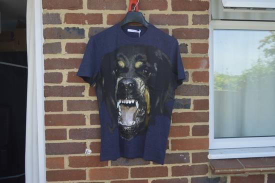 Givenchy Blue Rottweiler T-shirt Size US M / EU 48-50 / 2