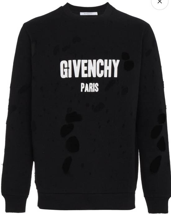 Givenchy Givenchy Distressed Logo Sweatshirt Size US L / EU 52-54 / 3