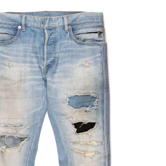 Balmain Distressed Patched Denim Size US 29 - 1