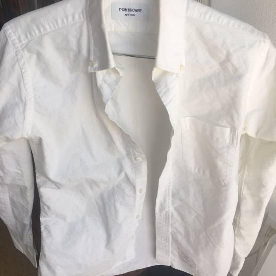 Thom Browne White Shirt Size 2 Size US M / EU 48-50 / 2 - 6